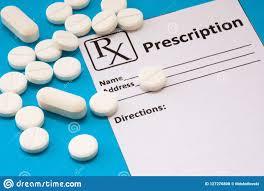 Medicament sur ordonnance et prescription
